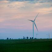 Windfarm in Iowa