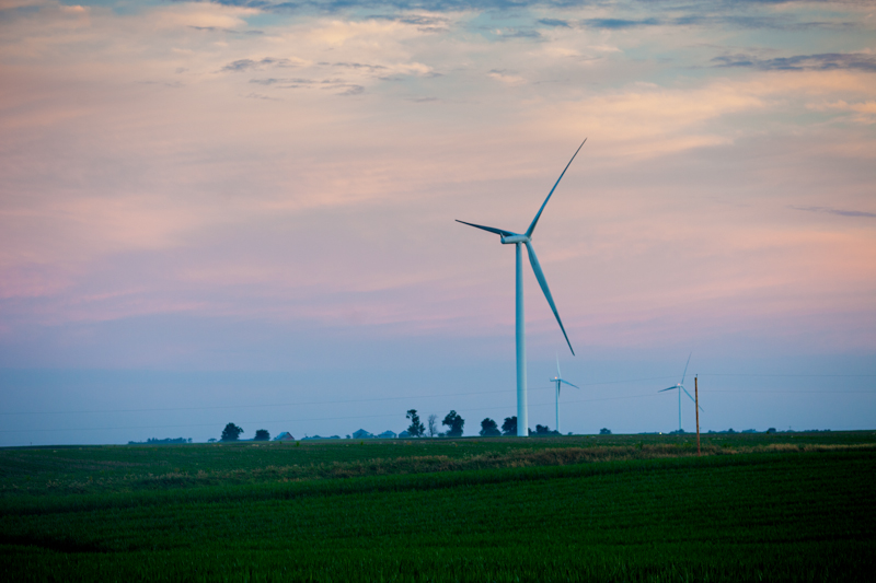 Windfarm in Iowa