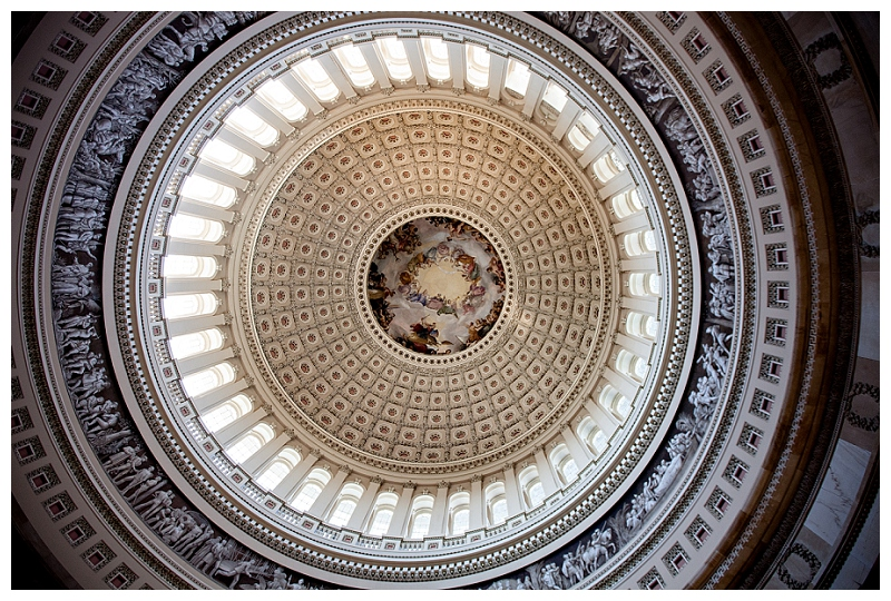 Ceiling of the US Capitol Rotunda