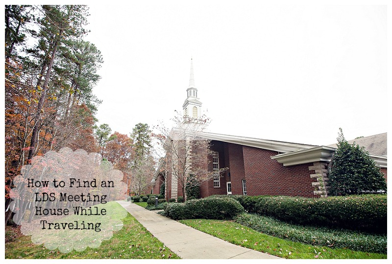How to Find an LDS Meeting House While Traveling