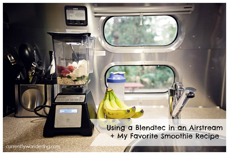 Using a Blendtec in an Airstream