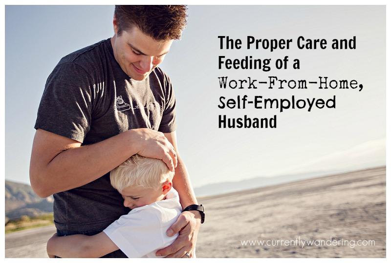 The Proper Care and Feeding of a Work From Home Self Employed Husband