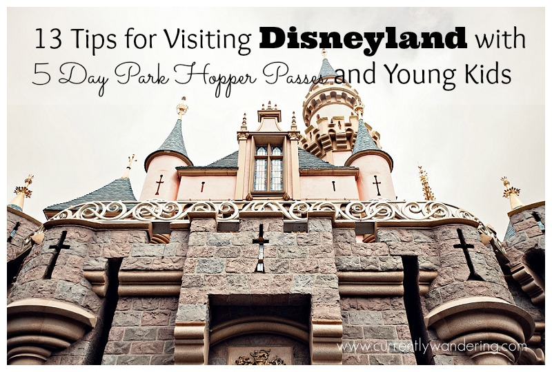 13 Tips for Visiting Disneyland with 5 Day Park Hopper Passes and Young Kids