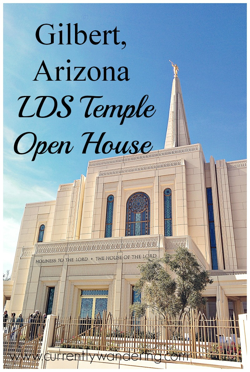 Gilbert Arizona LDS Temple Open House