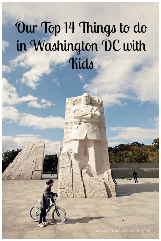Our Top 14 Things to do in Washington DC with Kids
