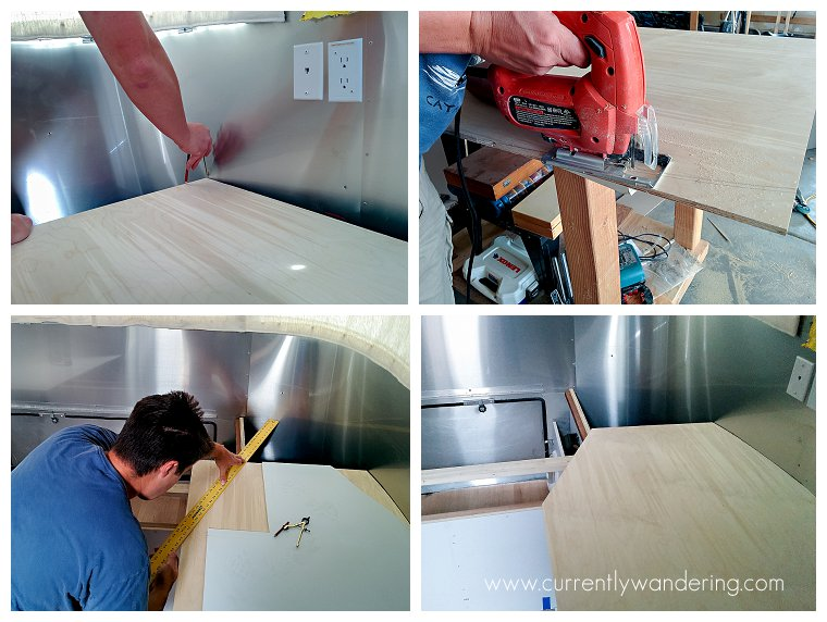Airstream Bedroom Remodel Queen To Twins Part 1