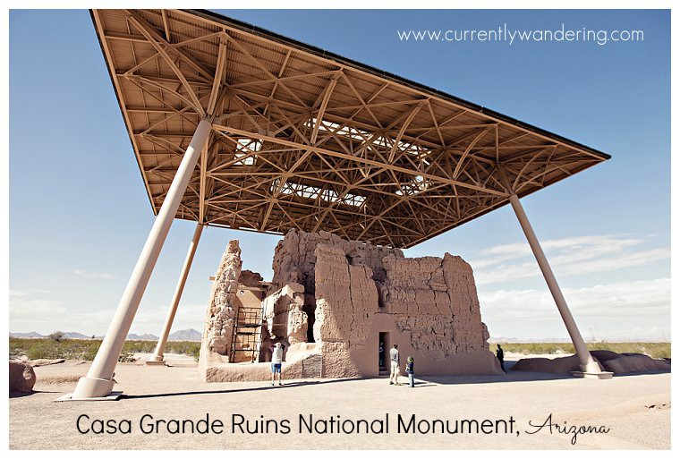Casa Grande Ruins National Monument Arizona