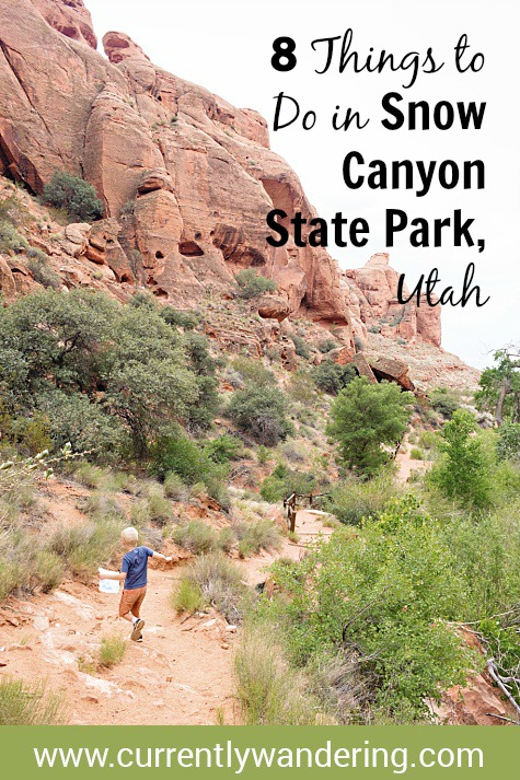 8 Things To Do In Snow Canyon Utah State Park - Currently ... on recapture canyon ut map, bryce canyon ut map, fremont indian state park ut map, starvation state park ut map,