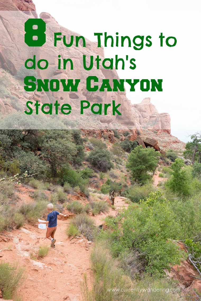 8 Things To Do In Snow Canyon Utah State Park 187 Currently