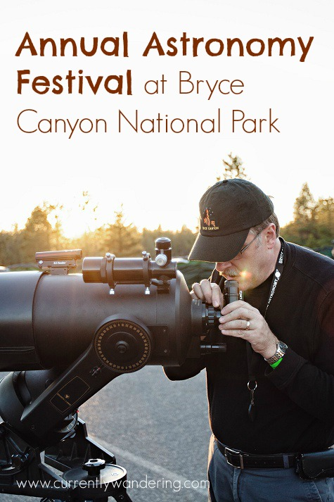 The Annual Astronomy Festival at Bryce Canyon National Park is definitely worth a visit! Look through dozens of telecopes to see some of the brightest stars in the darkest skies in the United States!