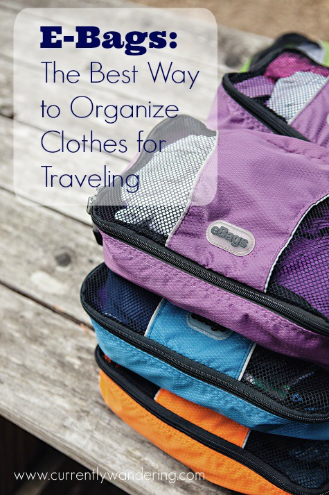 E bags the best way to organize clothes for traveling Best way to organize clothes