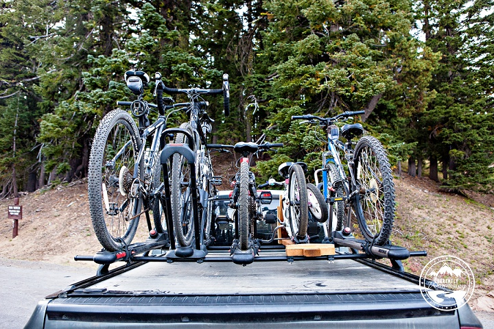 Gear Review Bike Racks For 5 On A Dodge Ram 1500