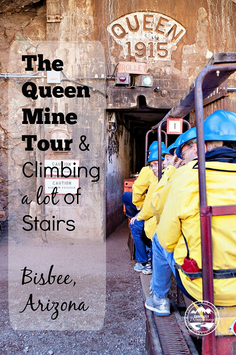 Touring the Queen Mine in Bisbee Arizona is an unforgetable experience!