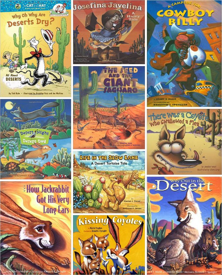 Picture Books That Will Prep Your Kids For The Sonoran Desert - All deserts