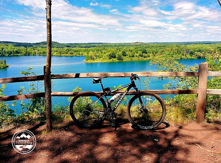 Mountain Biking in Ironton Minnesota
