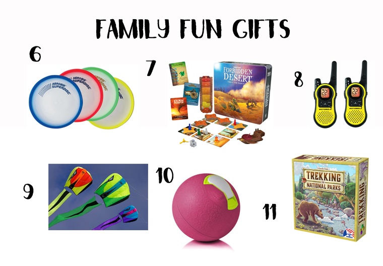 Family Time Gifts