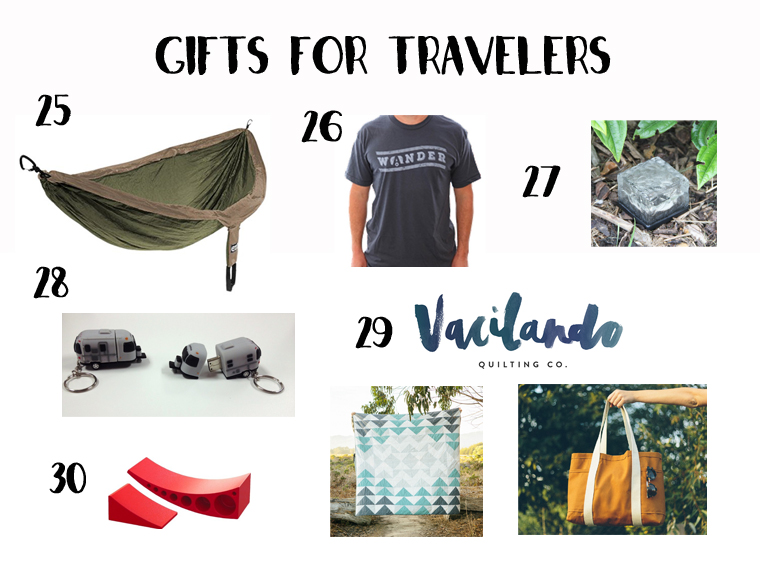 Gfits for RV Travellers