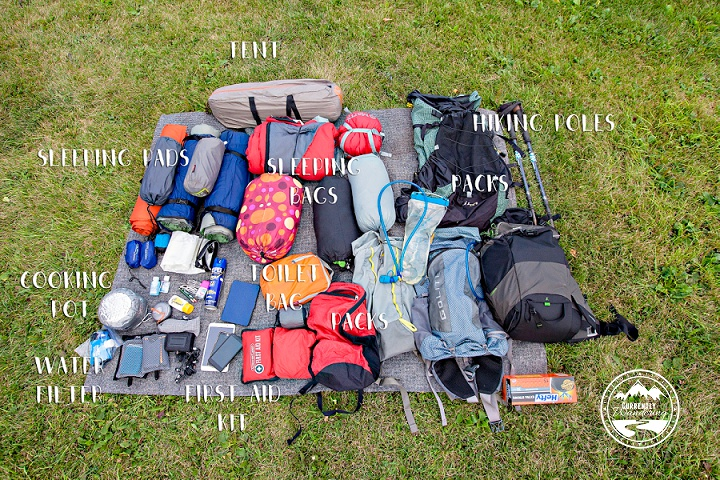 Backpacking With Kids The Gear List