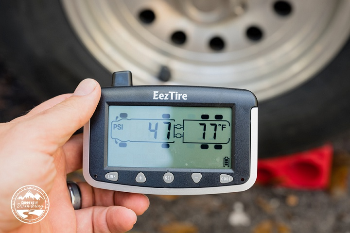 Worried about your RV or Airstream tire blowing out? The EezTire Pressure Monitoring system is easy to install and use. Check out our post for details!