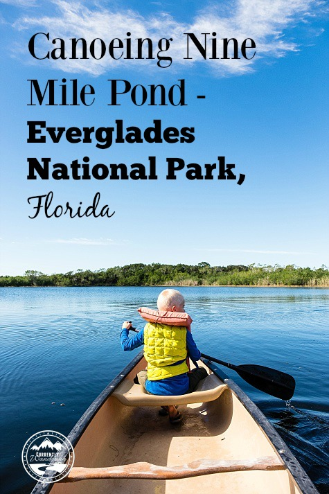 Canoeing Nine Mile Pond in Everglades National Park