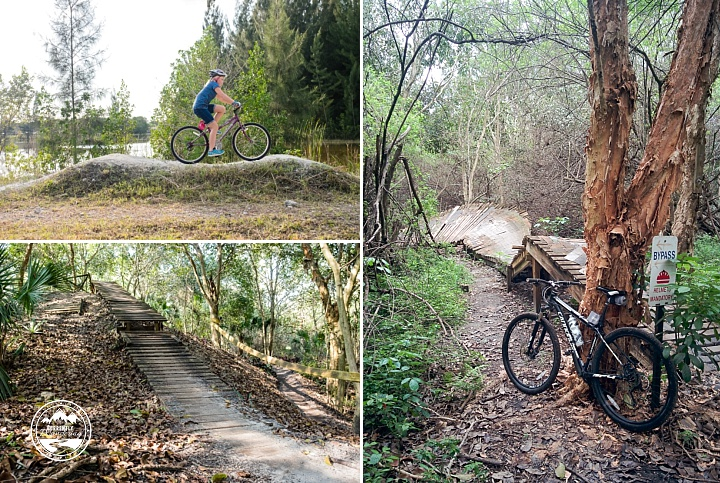 Mountain Biking at Markham Park