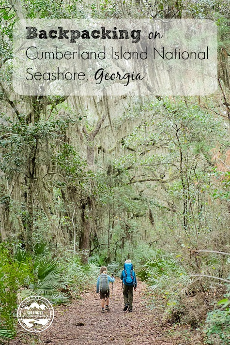 Backpacking on Cumberland Island National Seashore