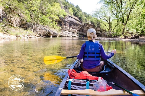 A Canoeing Service Project on the Buffalo National River