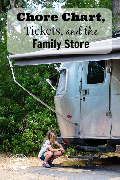 Chore Chart, Tickets, and the Family Store