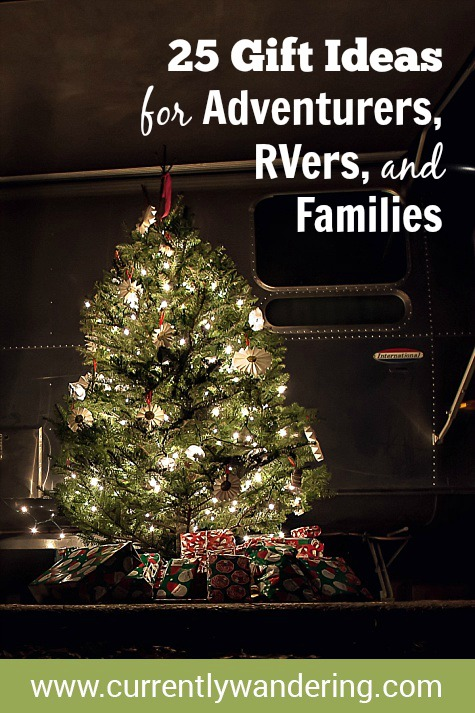 Looking for gift ideas? Check out our top gifts for the Outdoor Adventure enthusiast, the RVer, or even your own family!