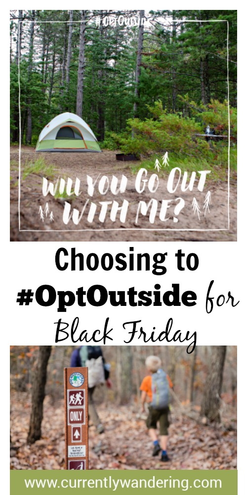 Excited for Thanksgiving? Instead of shopping after the meal, consider Going Out with Us! Check out how we are dodging consumerism and spending time together as a family outdoors instead.