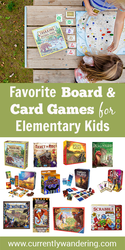 Looking for great board or card games for kids? Check our list of educational, fun, collaborative and creative games to play with your children!