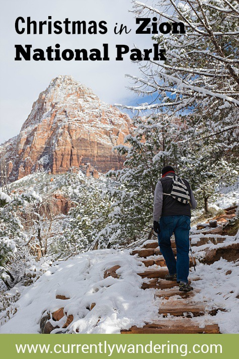 We Spend Christmas in Zion National Park