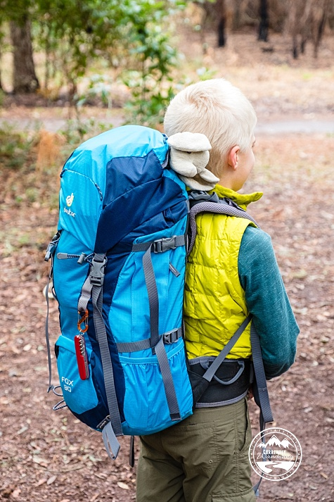 498132e7be40 Gear Review: Deuter Fox 30 Backpack for Kids - Currently Wandering