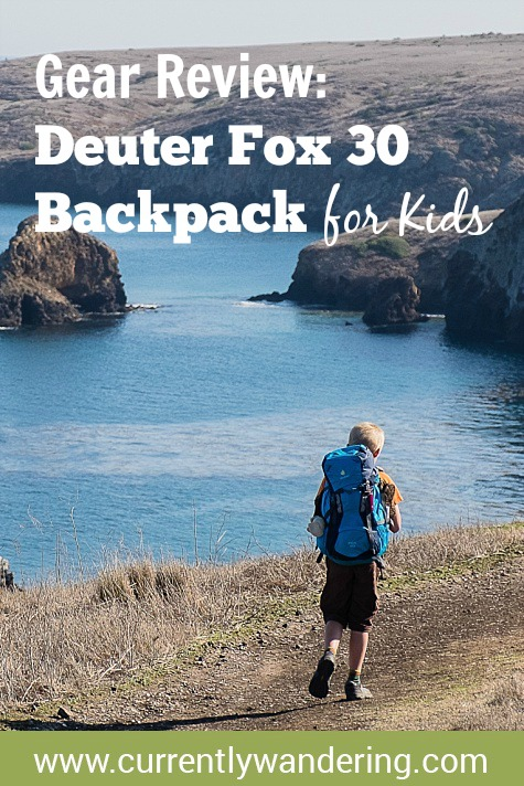 Gear Review  Deuter Fox 30 Backpack for Kids - Currently Wandering 0291e4dbf21eb