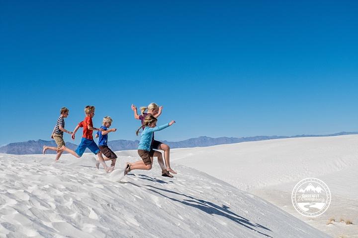 Backpacking Amp Sledding In White Sands National Monument