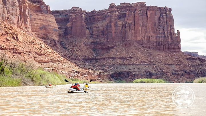 Paddle Labyrinth Canyon on the Green River – Utah ...